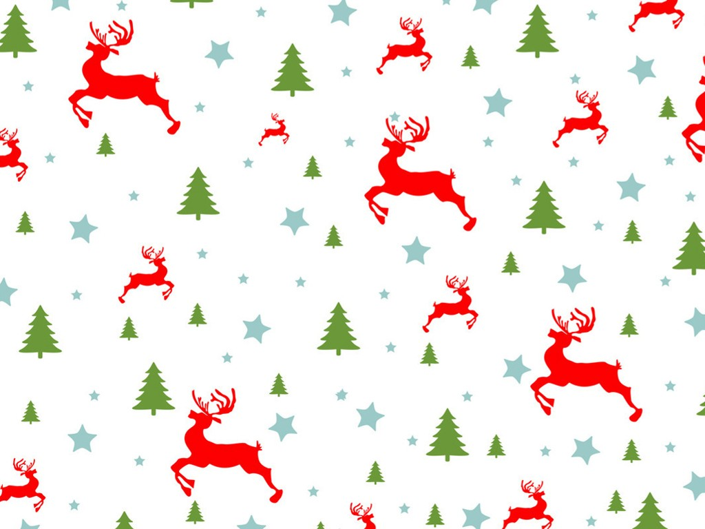 Abstract Wallpaper: Christmas - Pattern
