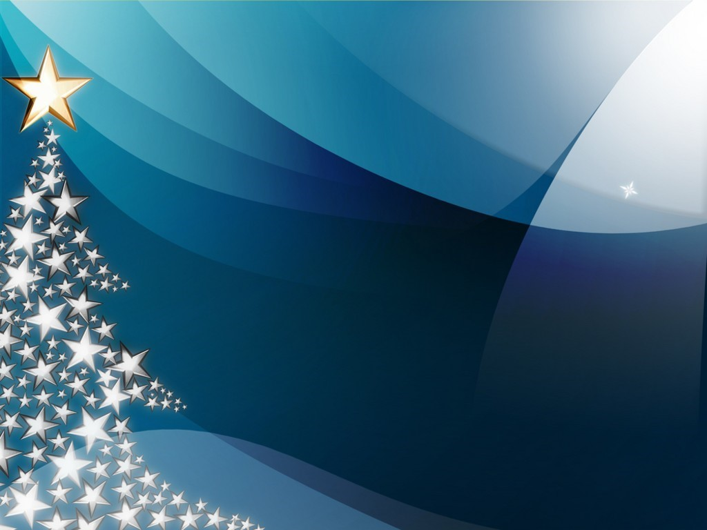 Abstract Wallpaper: Christmas - Starry Night