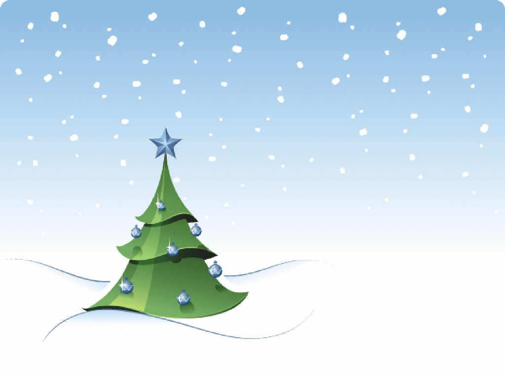Abstract Wallpaper: Christmas Tree