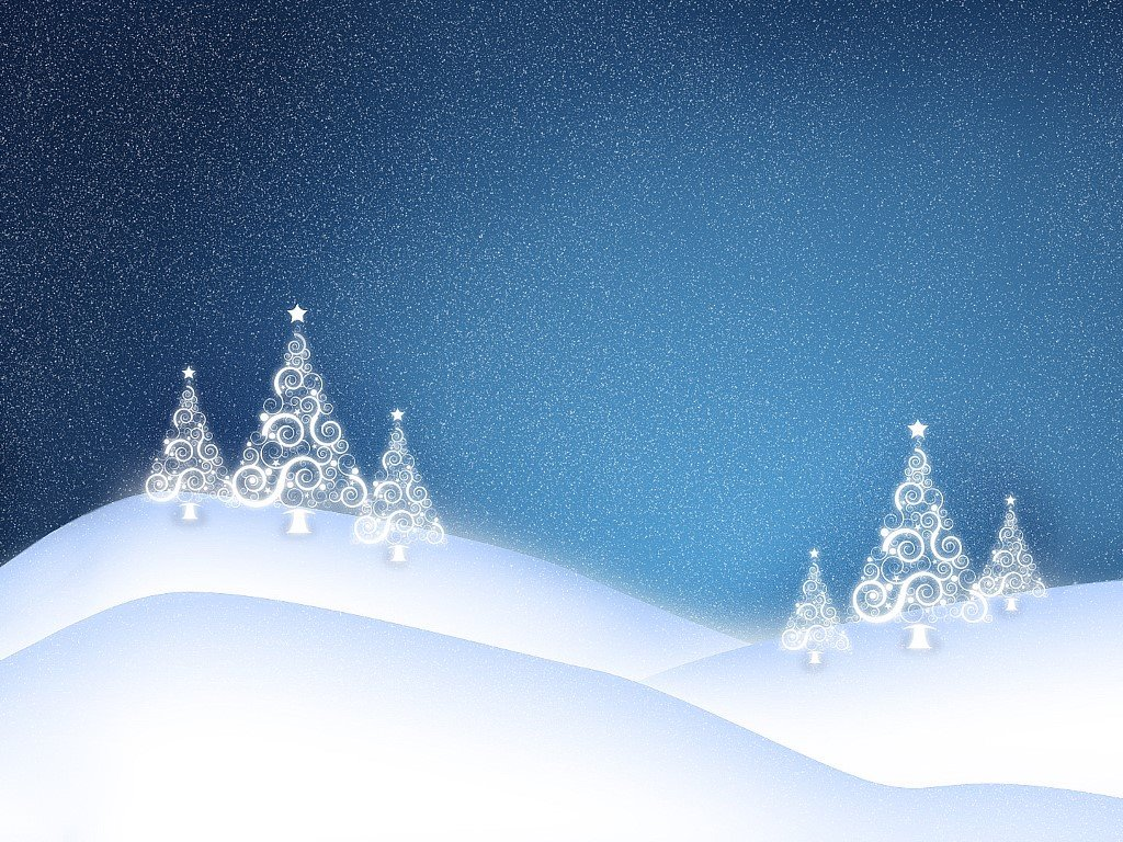 Abstract Wallpaper: Christmas Trees