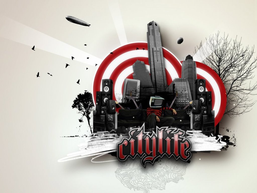 Abstract Wallpaper: Citylite