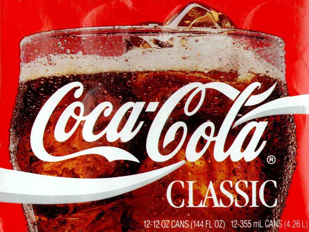 Abstract Wallpaper: Coca-Cola