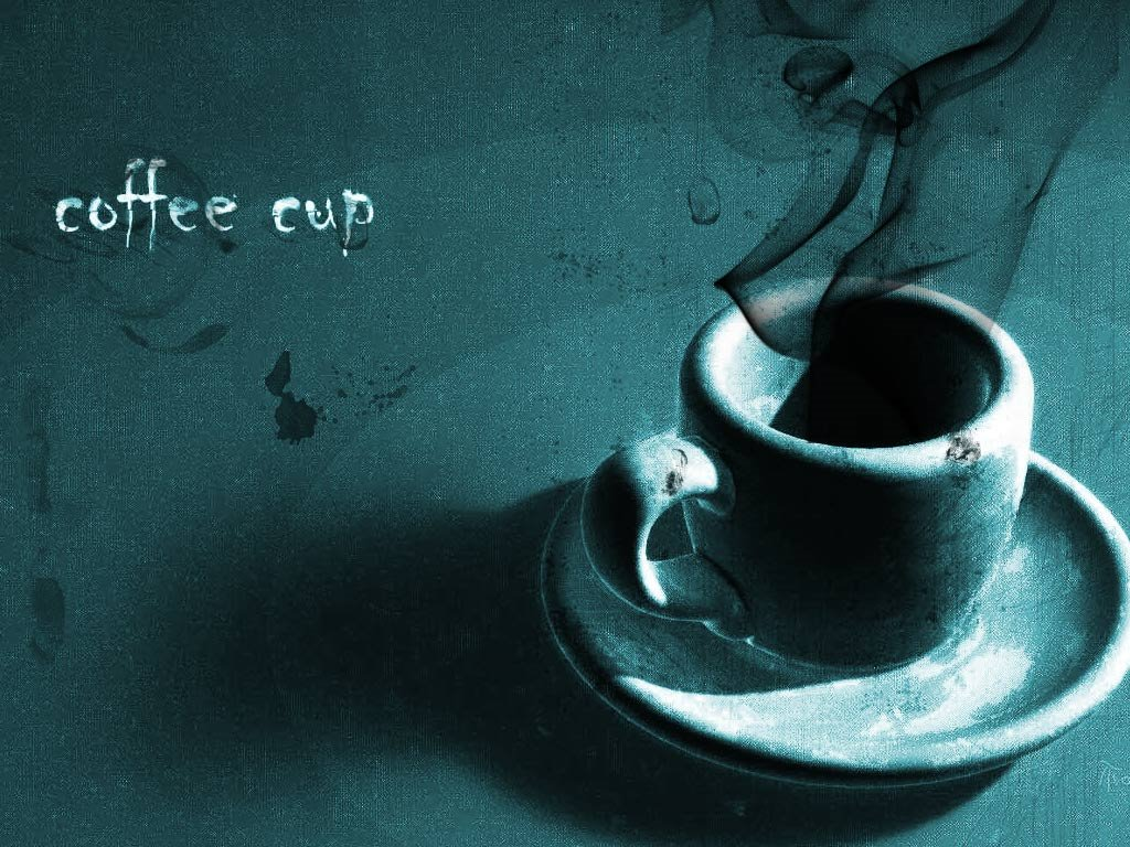 Abstract Wallpaper: Coffee Cup
