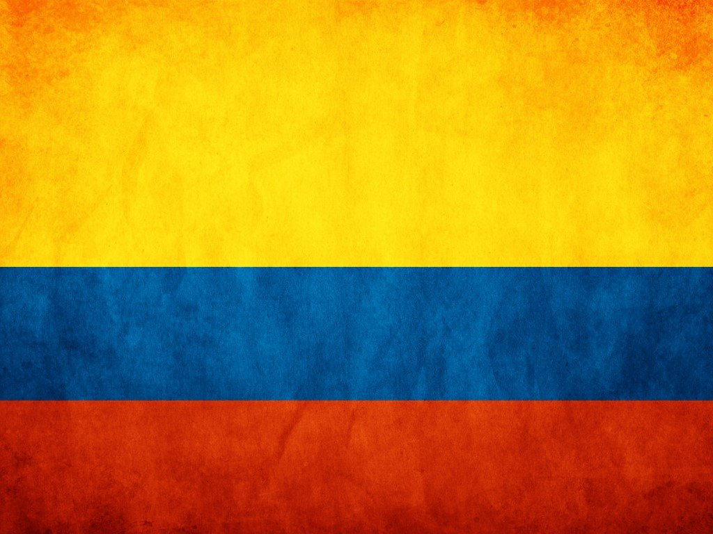Abstract Wallpaper: Colombia - Flag