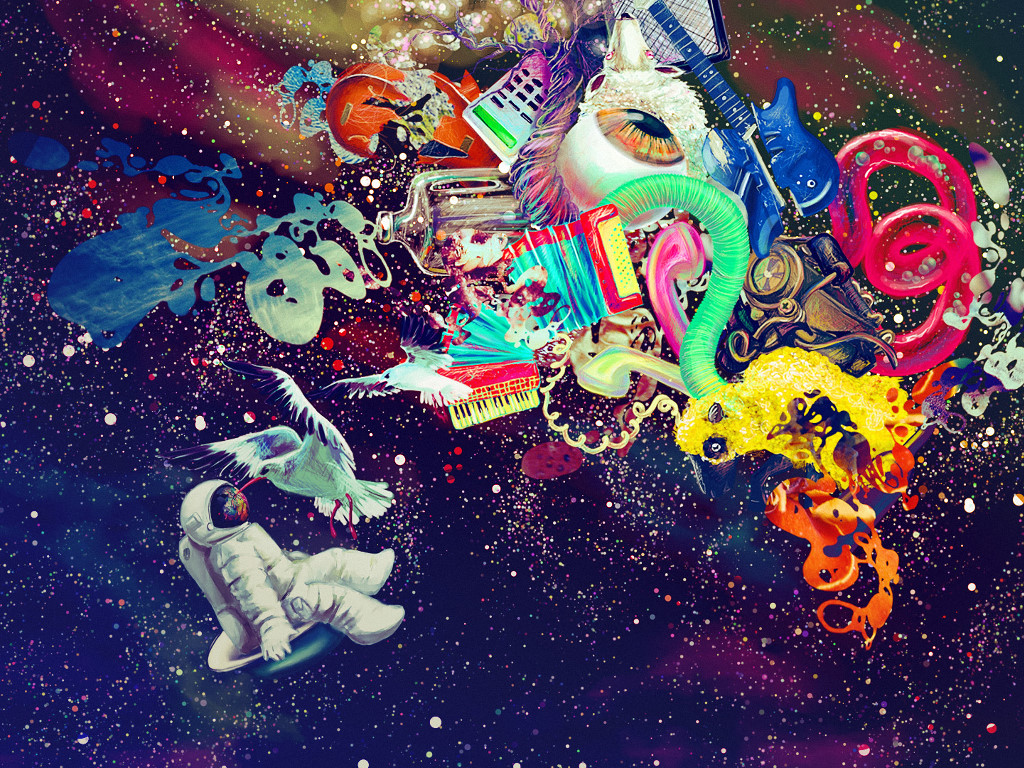 Abstract Wallpaper: Cosmic Free