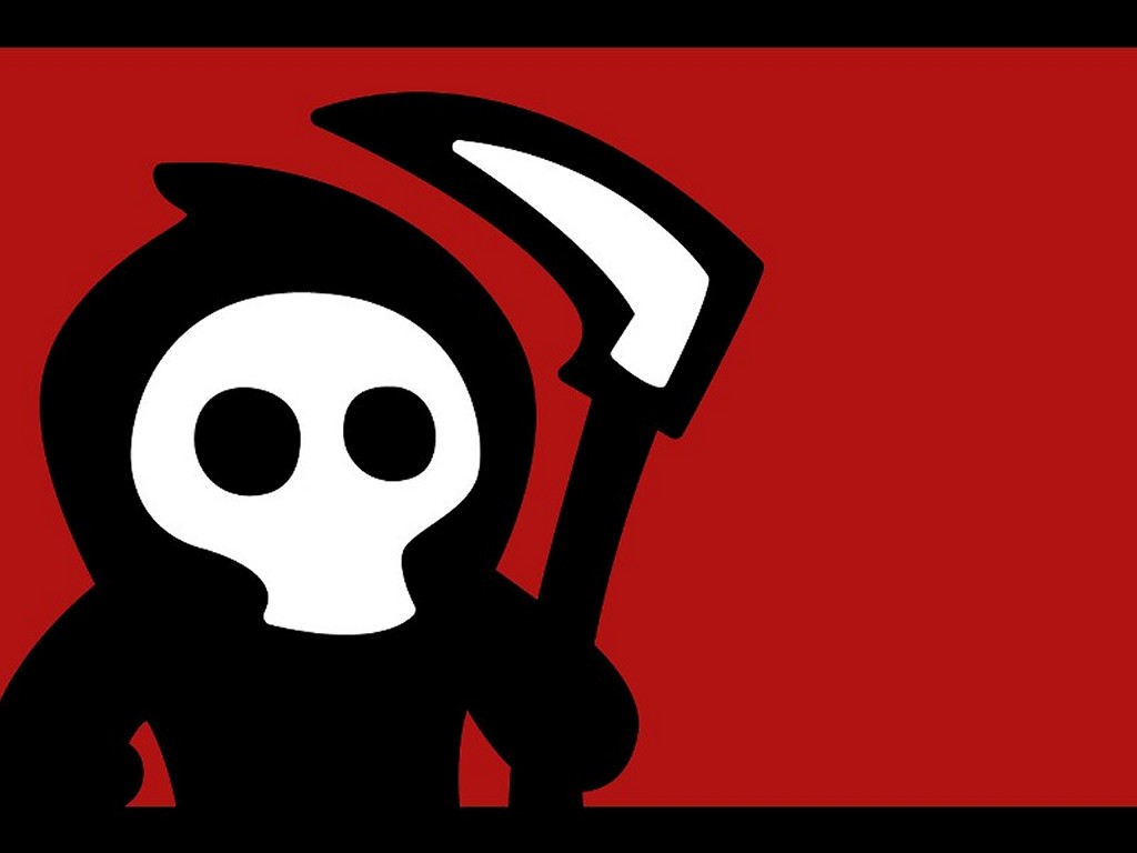 Abstract Wallpaper: Cute Grim