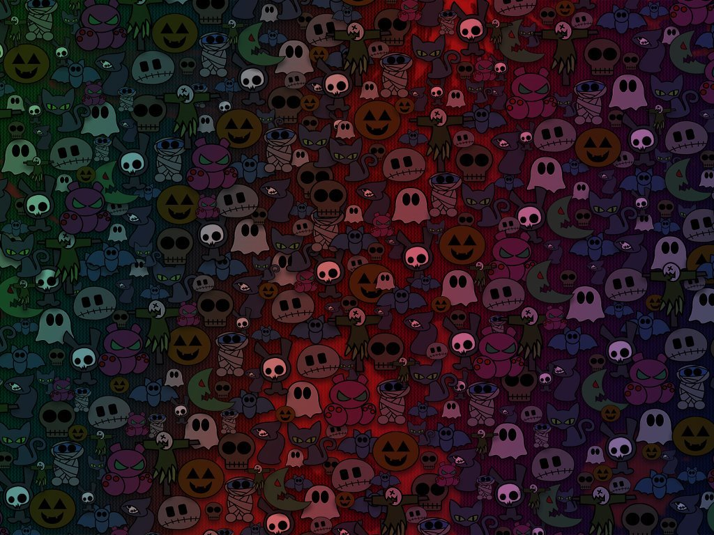 Abstract Wallpaper: Cute Halloween