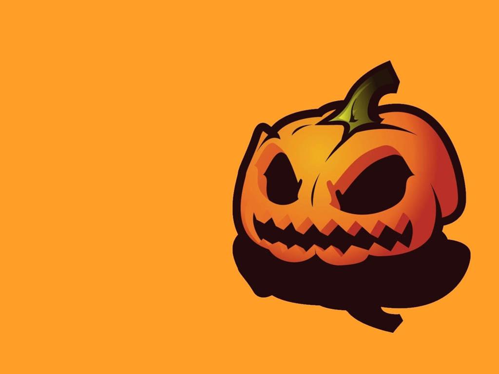 Abstract Wallpaper: Halloween Pumpkin