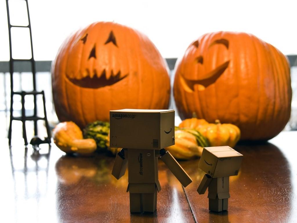 Papel de Parede Gratuito de Abstrato : Danbo - Halloween