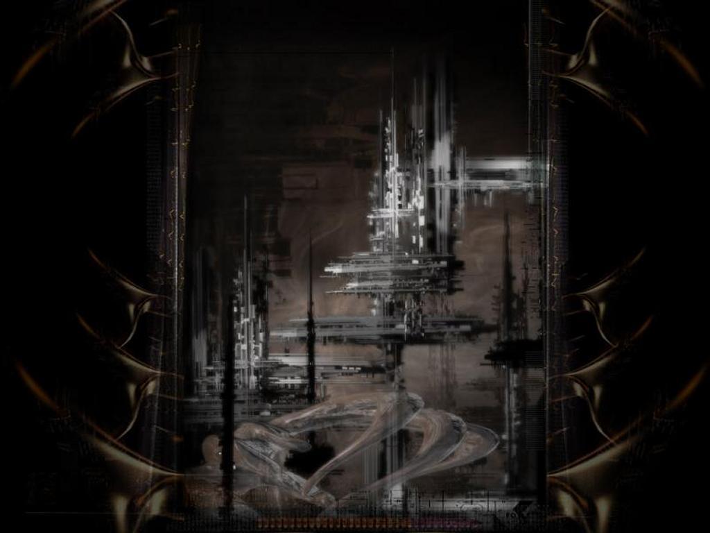 Abstract Wallpaper: Dark City