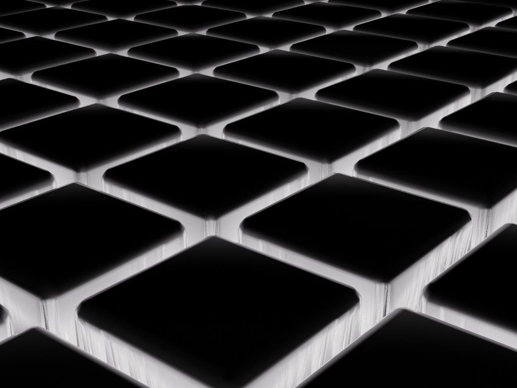 Abstract Wallpaper: Dark Cubes