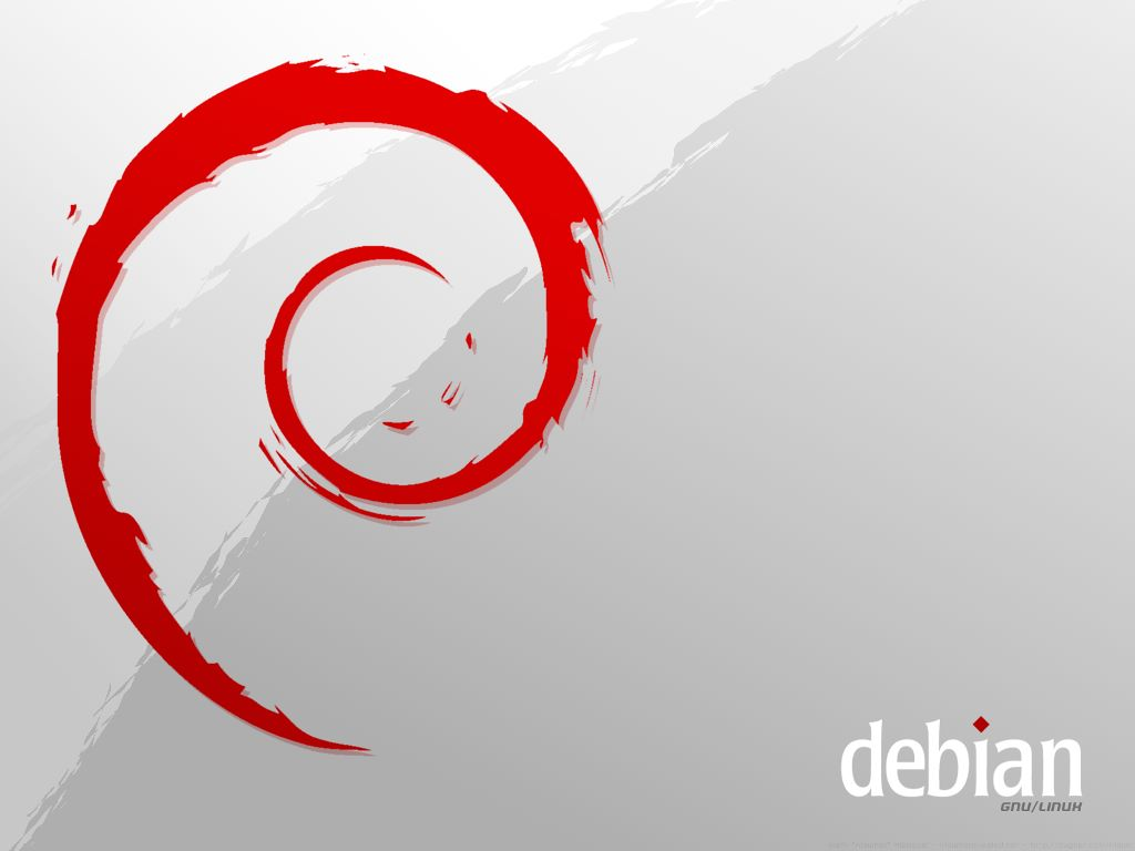 Abstract Wallpaper: Debian