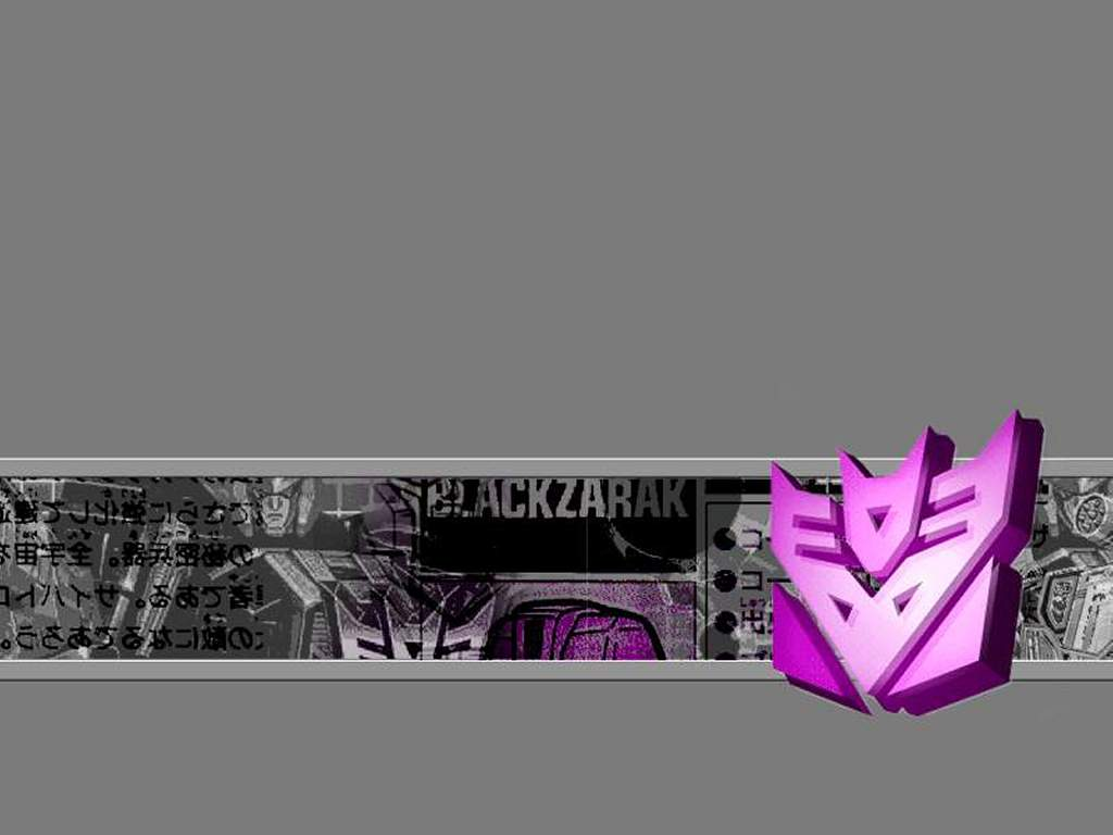 Abstract Wallpaper: Decepticon Forever