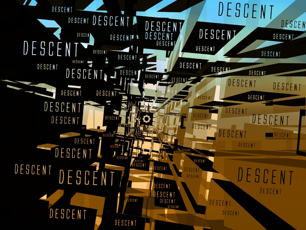 Abstract Wallpaper: Descent