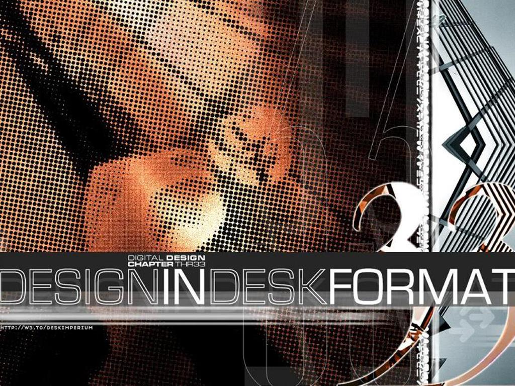 Abstract Wallpaper: Design Desk