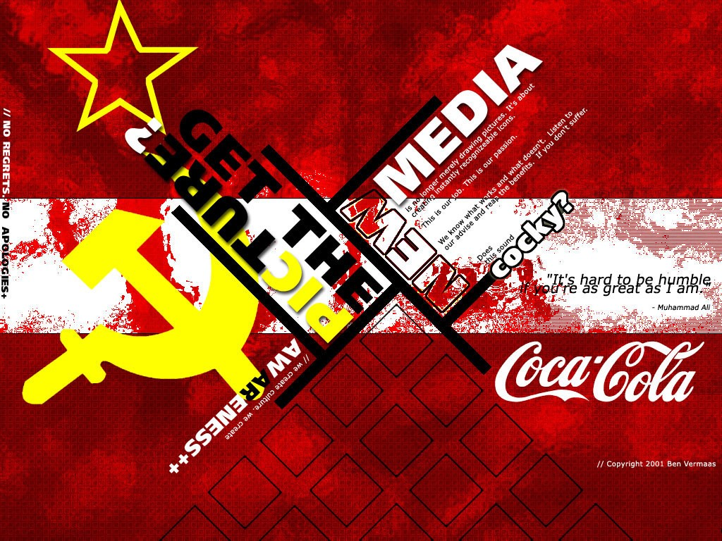 Abstract Wallpaper: Design Propaganda Poster