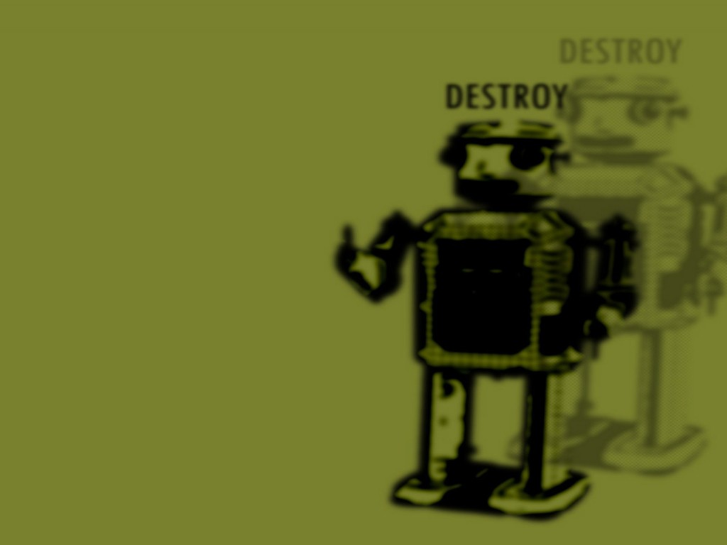 Abstract Wallpaper: Destroy