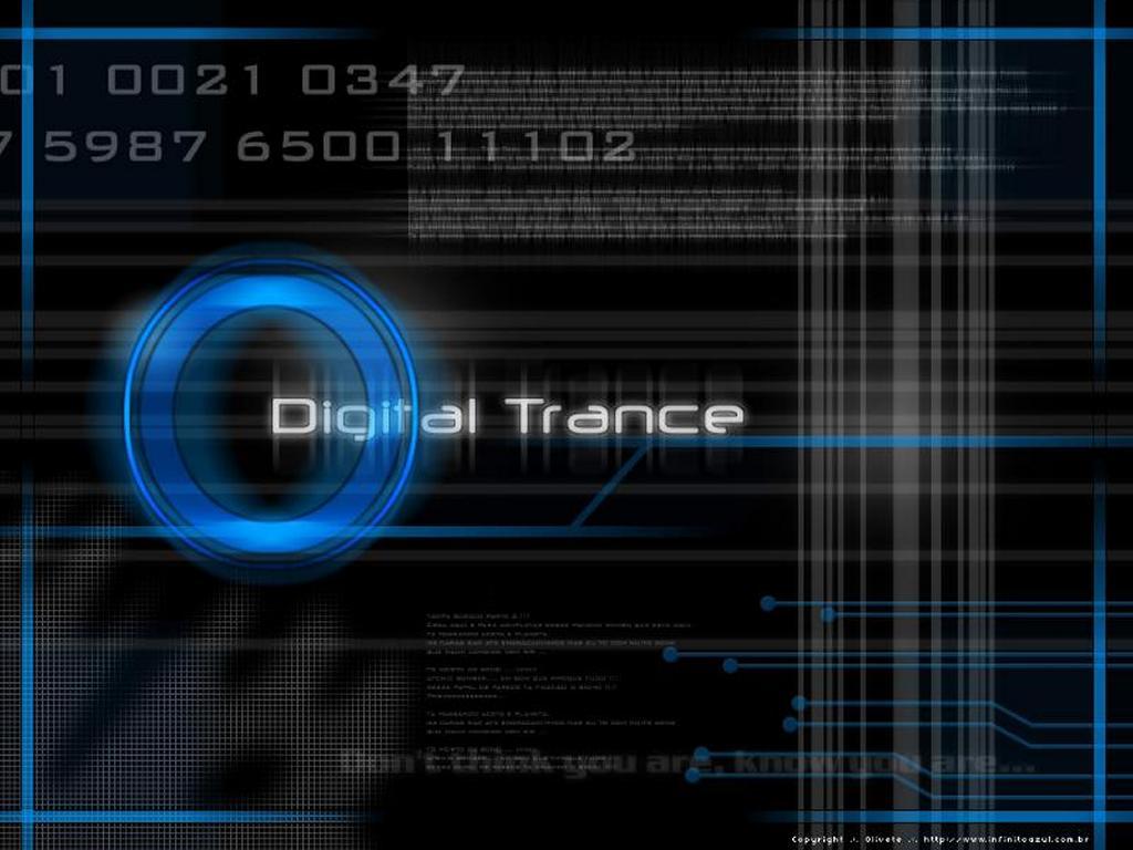 Abstract Wallpaper: Digital Trance
