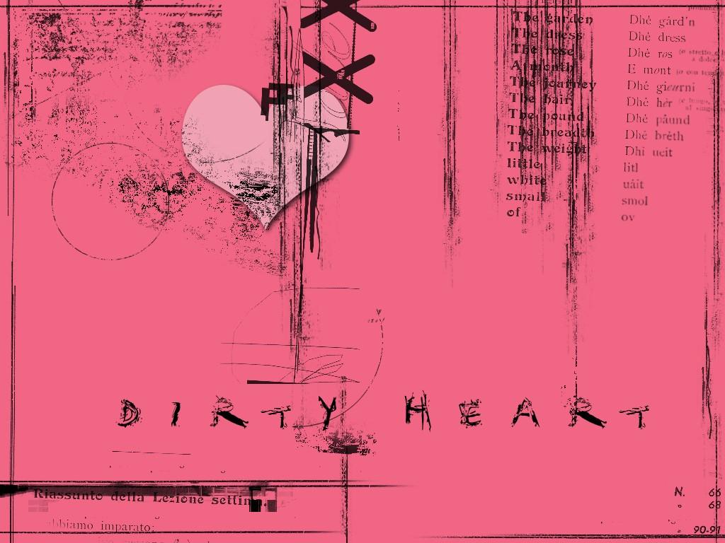 Abstract Wallpaper: Dirty Heart