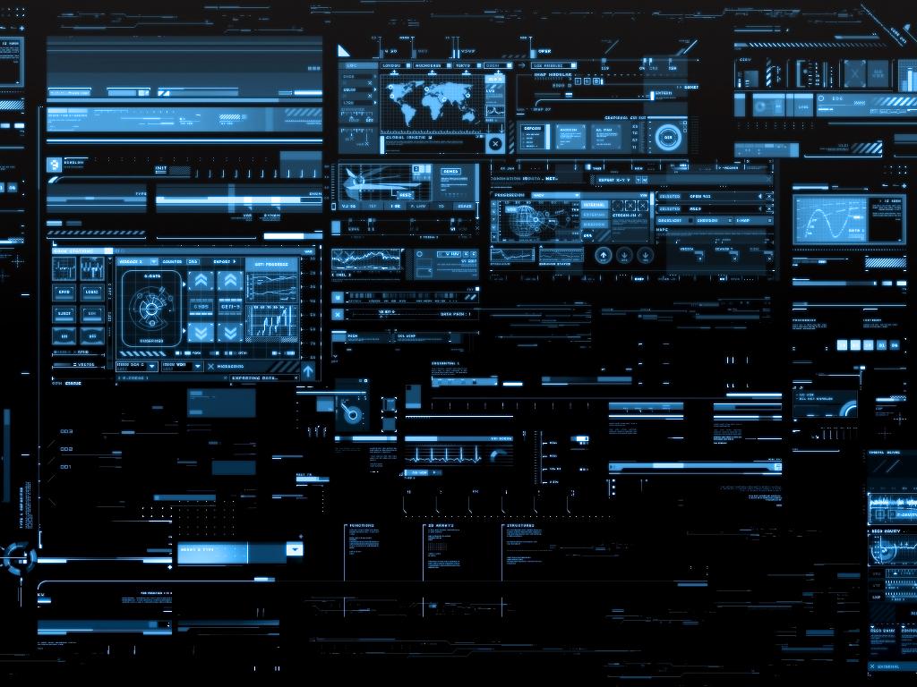 Abstract Wallpaper: Display Data