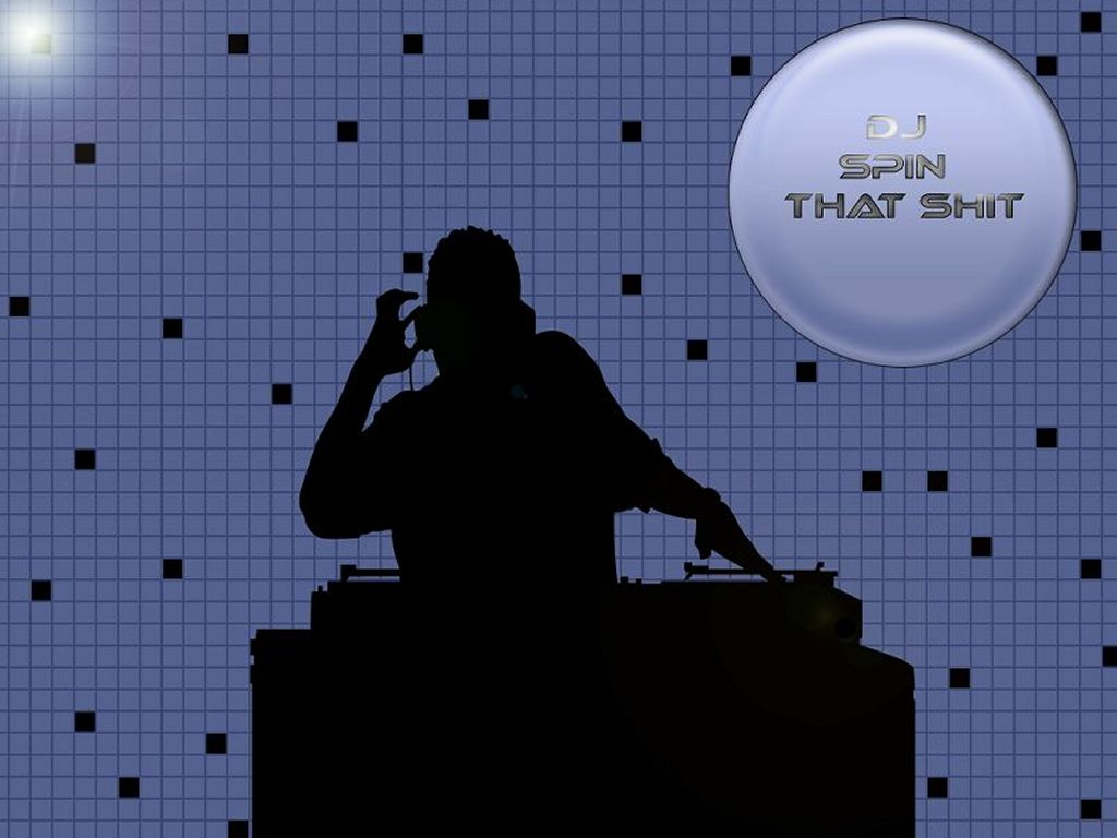Abstract Wallpaper: DJ