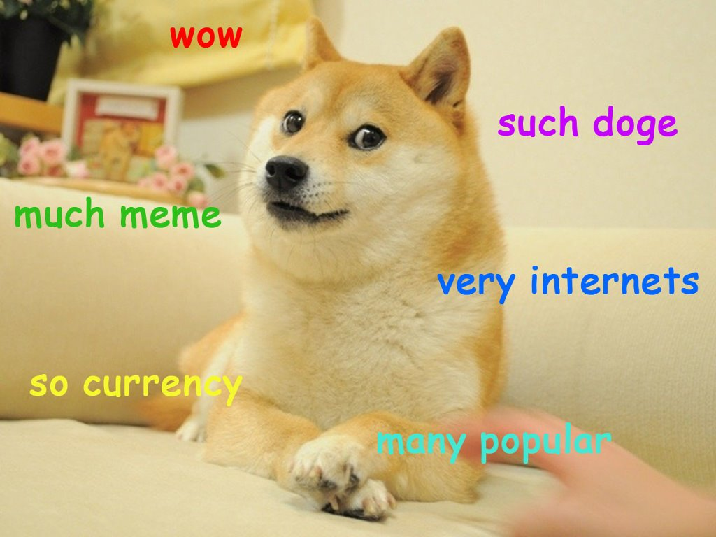 Abstract Wallpaper: Doge