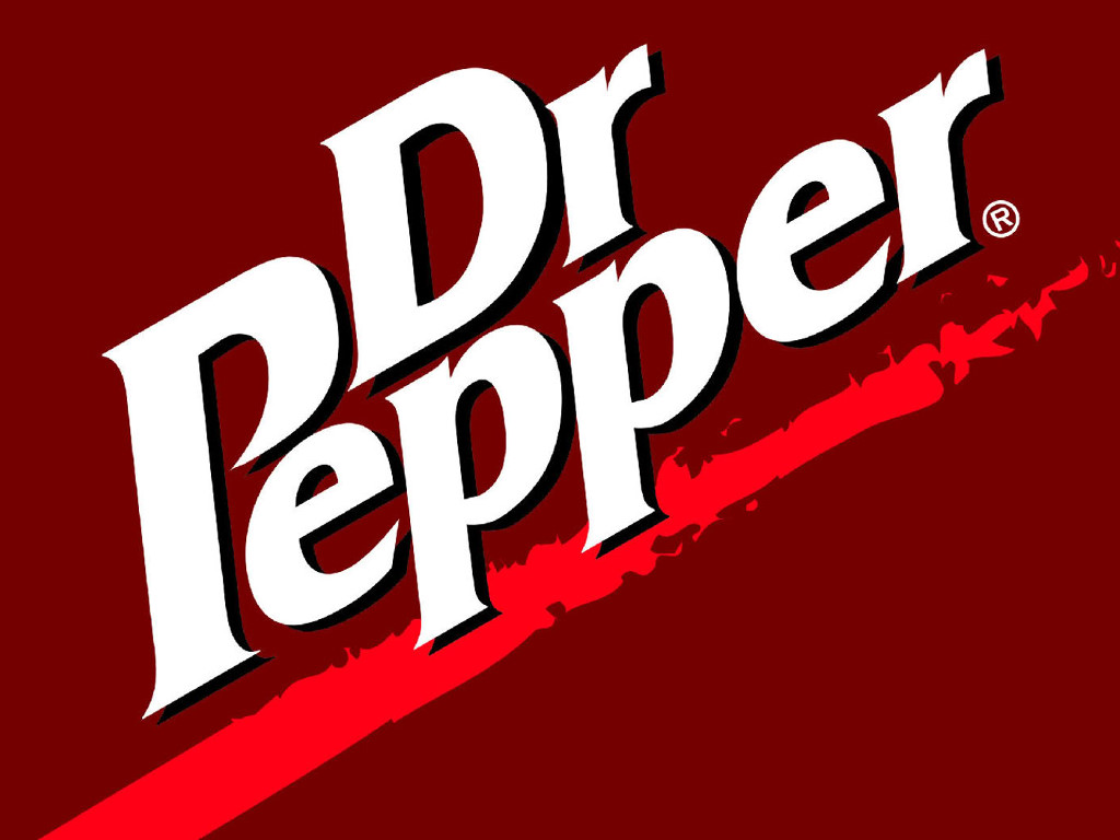 Abstract Wallpaper: Dr. Pepper