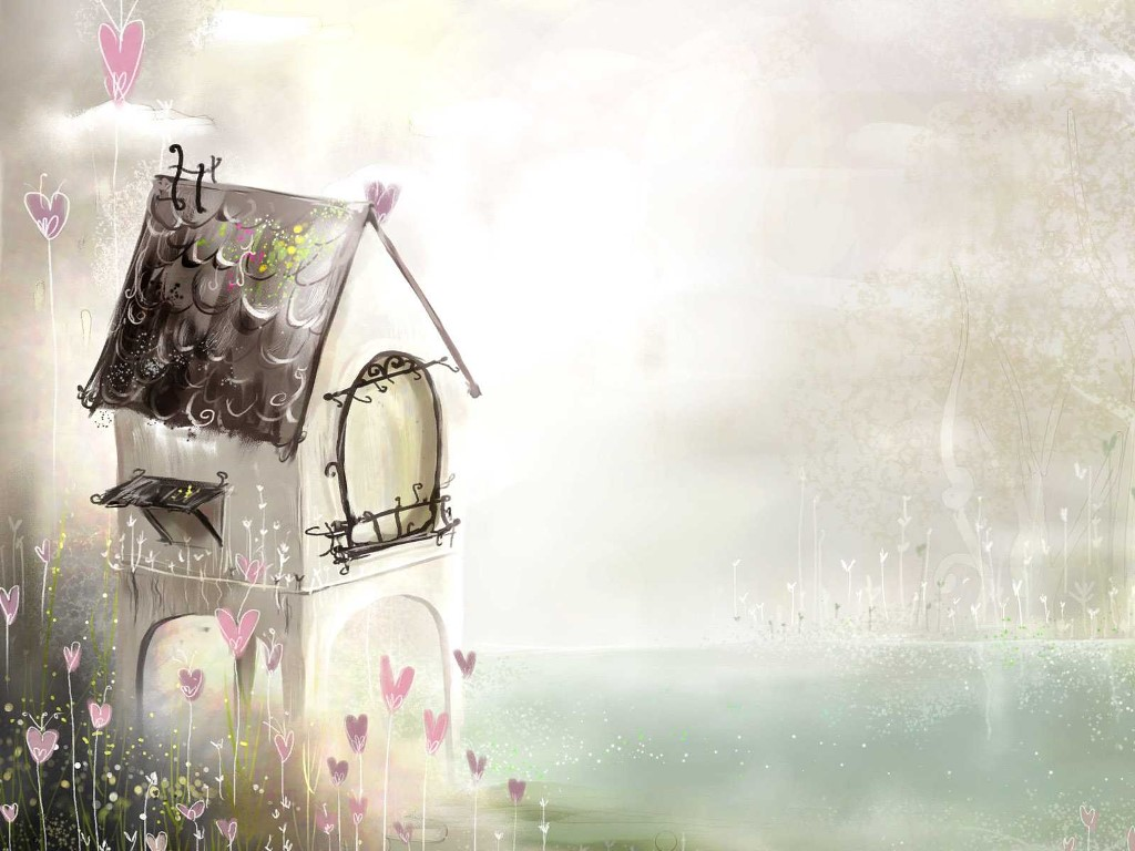 Abstract Wallpaper: Dream House