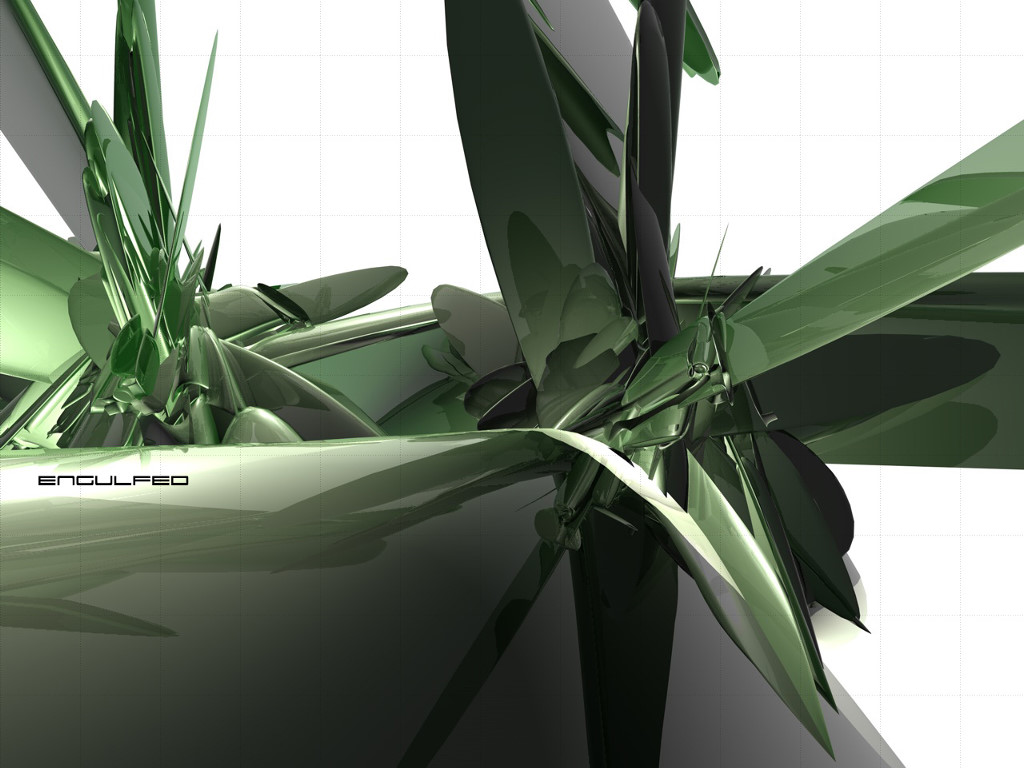 Abstract Wallpaper: Engulfed