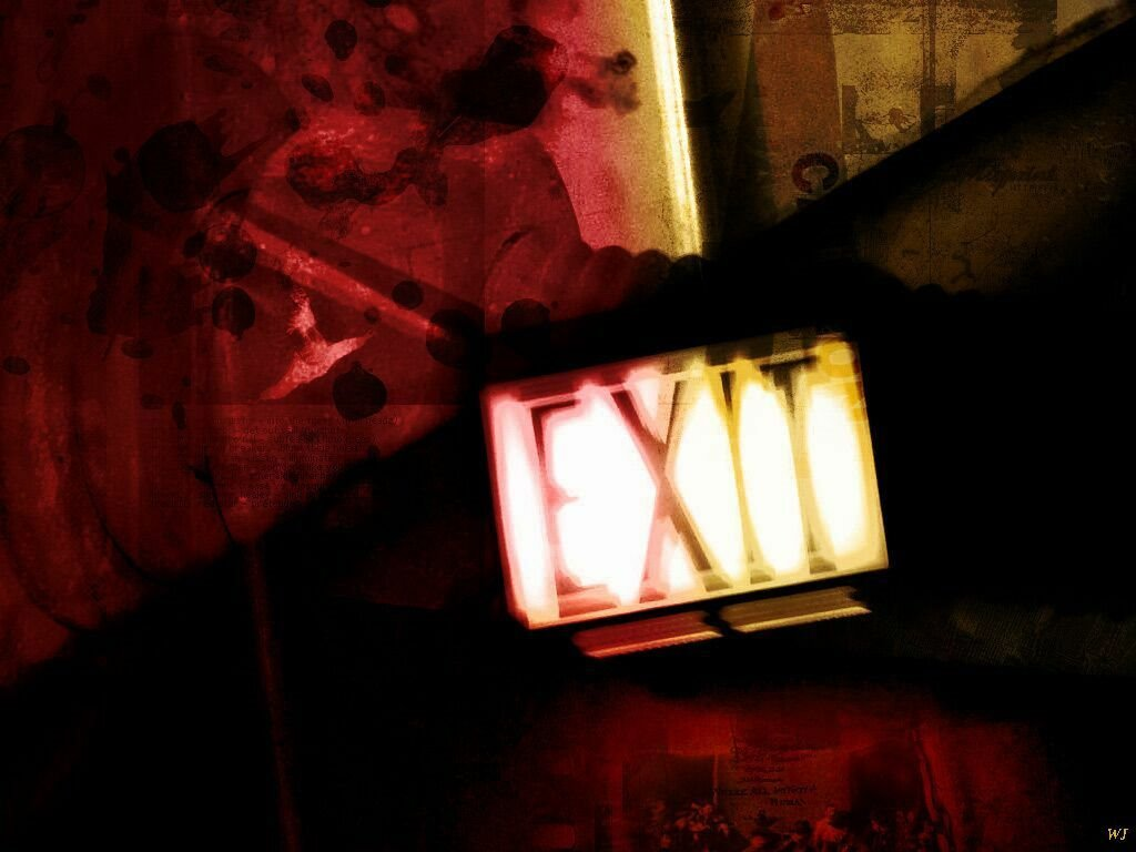Abstract Wallpaper: Exit