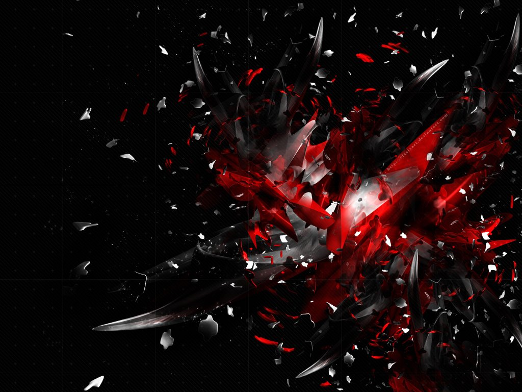 Abstract Wallpaper: Explosion