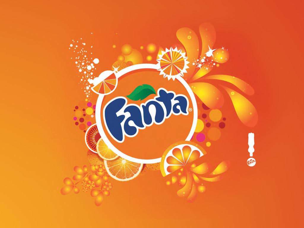 Abstract Wallpaper: Fanta