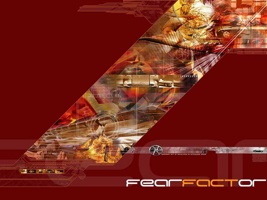 Abstract Wallpaper: Fear Factor