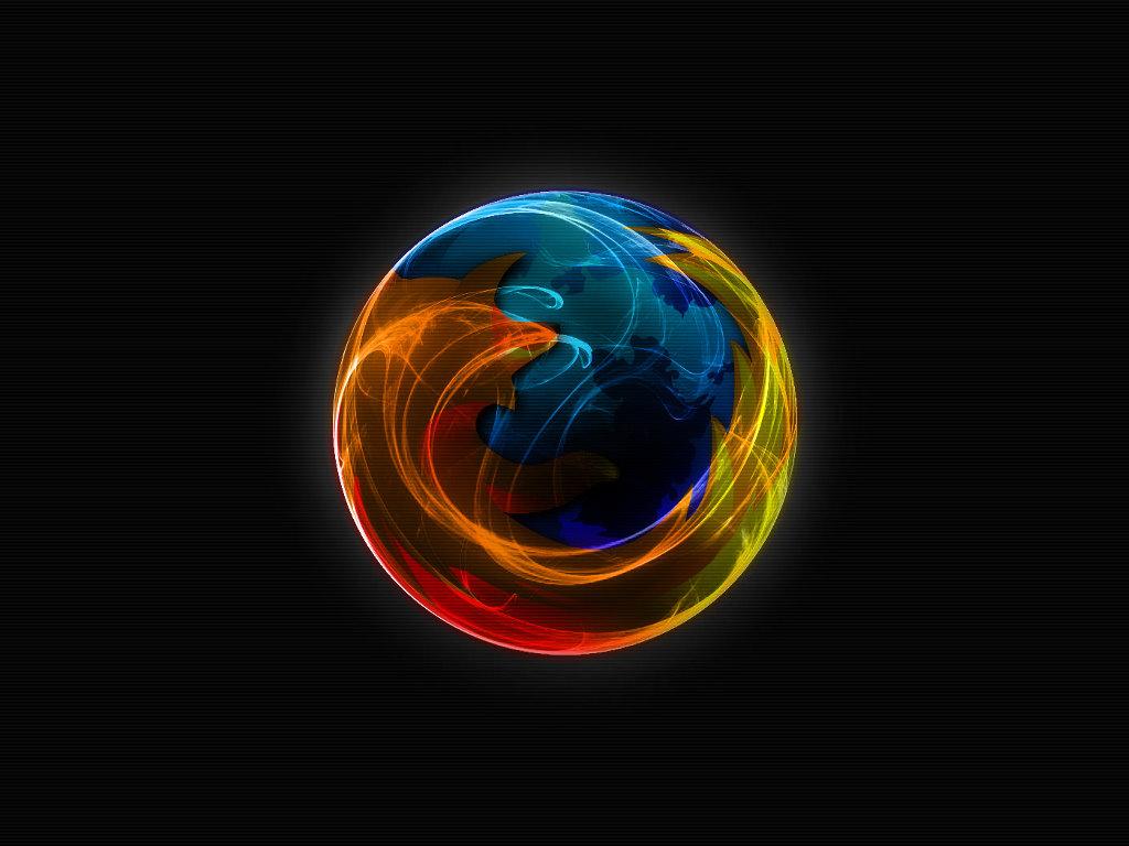 Abstract Wallpaper: Firefox
