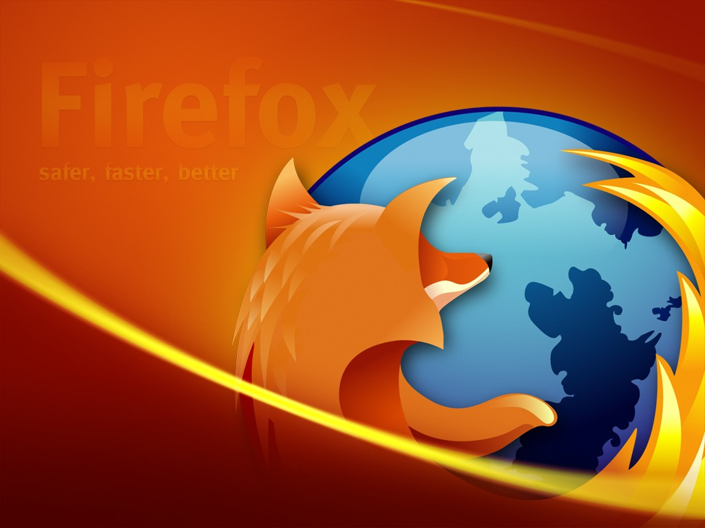 Abstract Wallpaper: Firefox