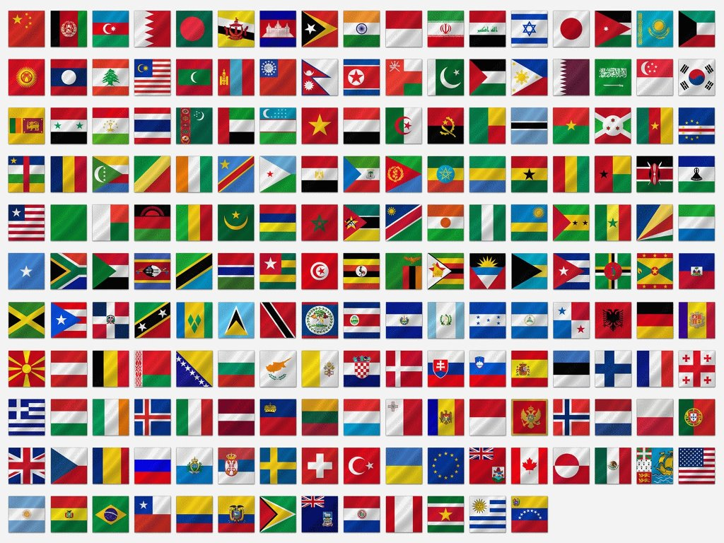 Abstract Wallpaper: Flags