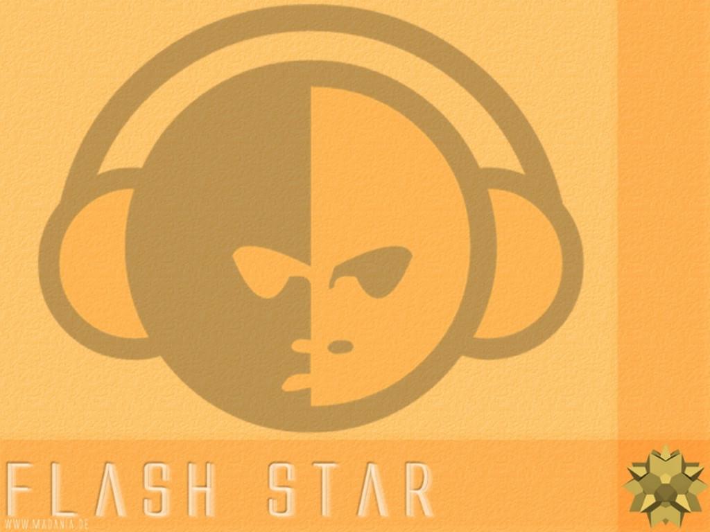 Abstract Wallpaper: Flash Star