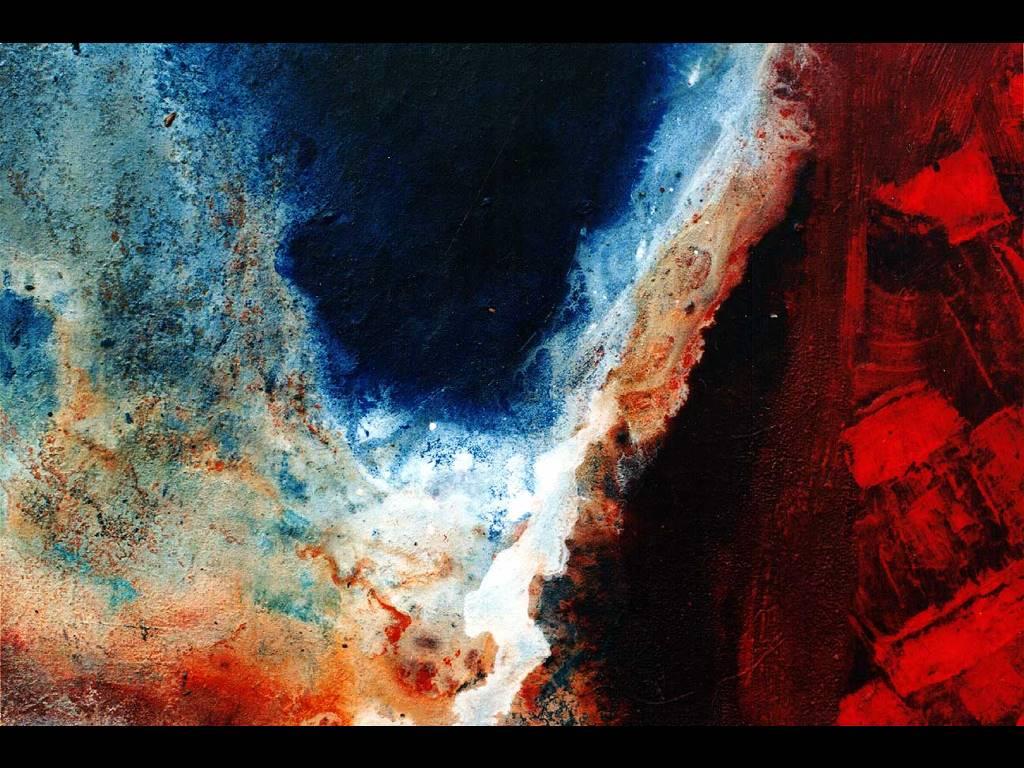 Abstract Wallpaper: Fractal Firebrick