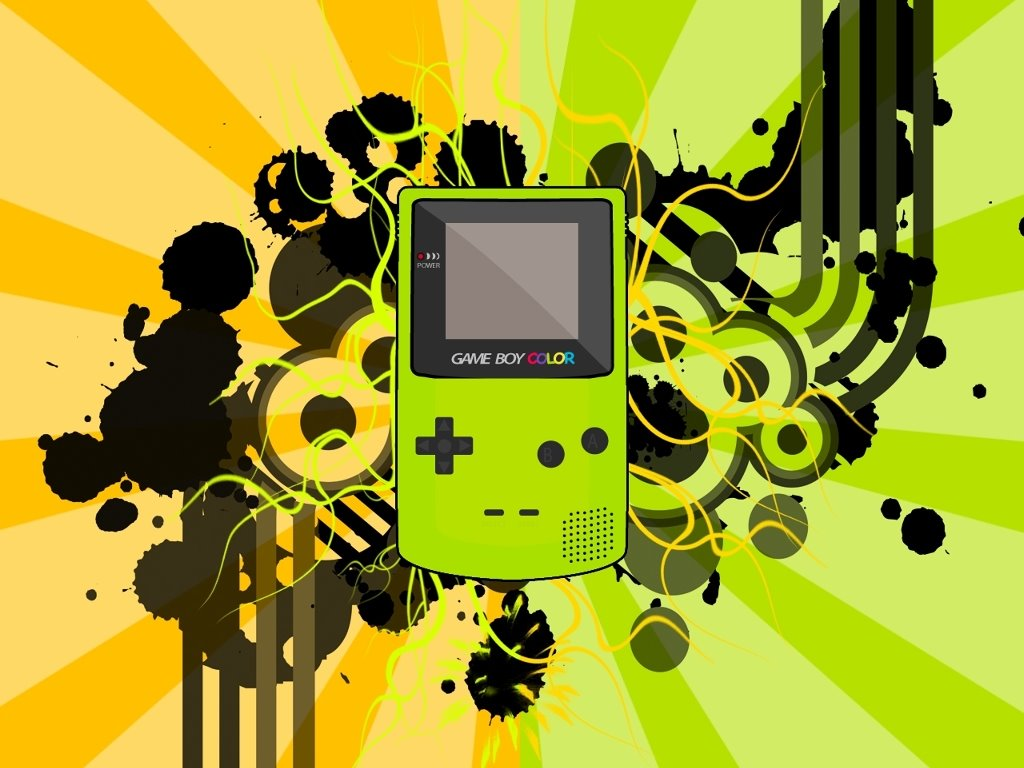 Abstract Wallpaper: Gameboy Color