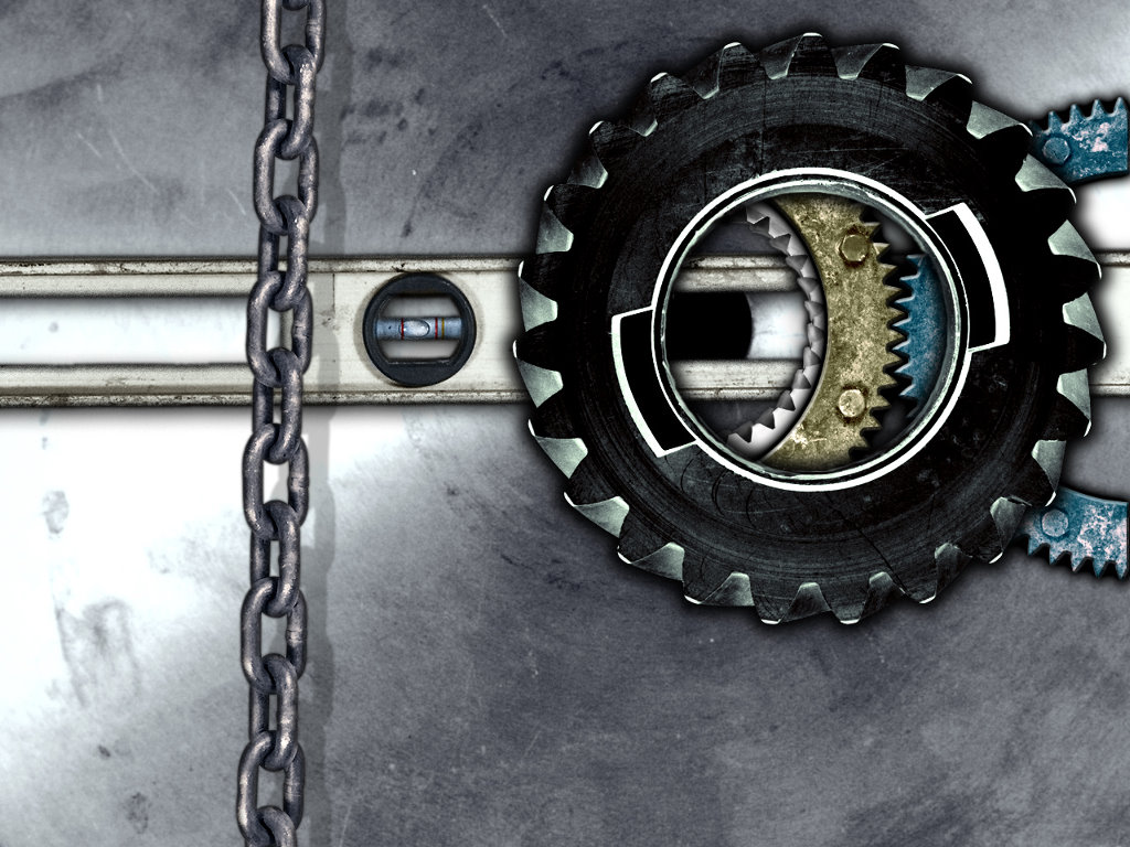 Abstract Wallpaper: Gears of Industry