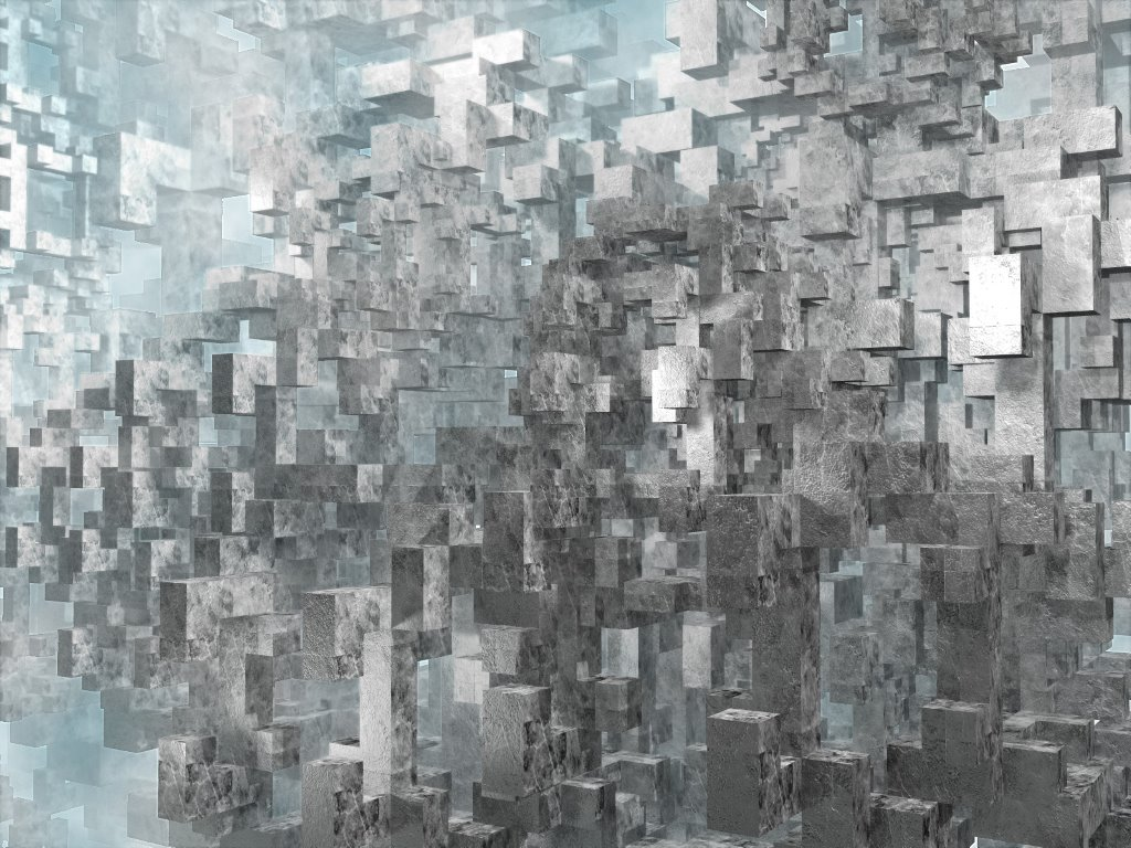 Abstract Wallpaper: Geometrics