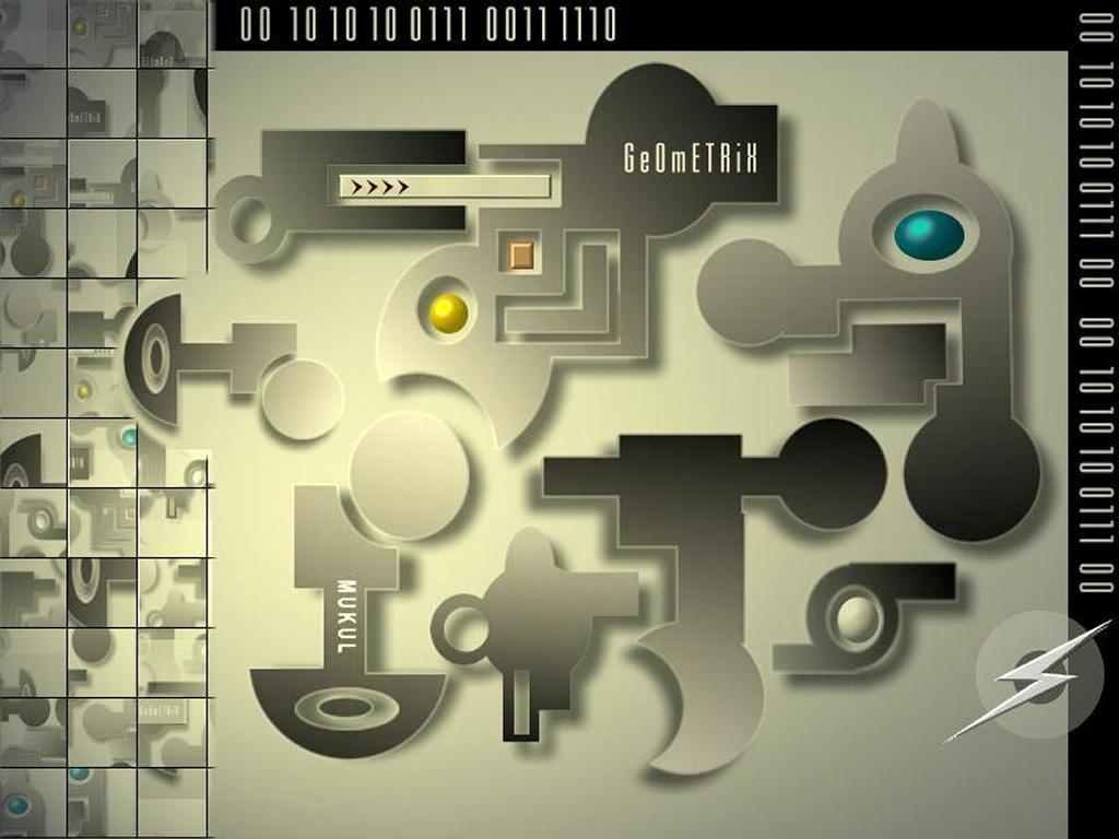 Abstract Wallpaper: Geometrix