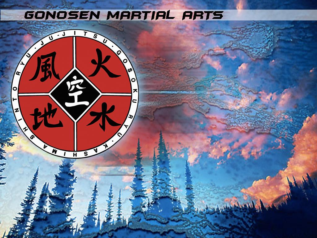 Abstract Wallpaper: Gonosen - Martial Arts