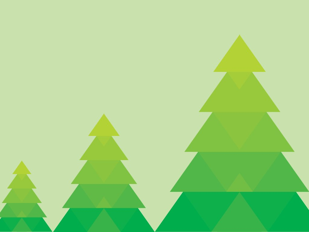 Abstract Wallpaper: Green Christmas