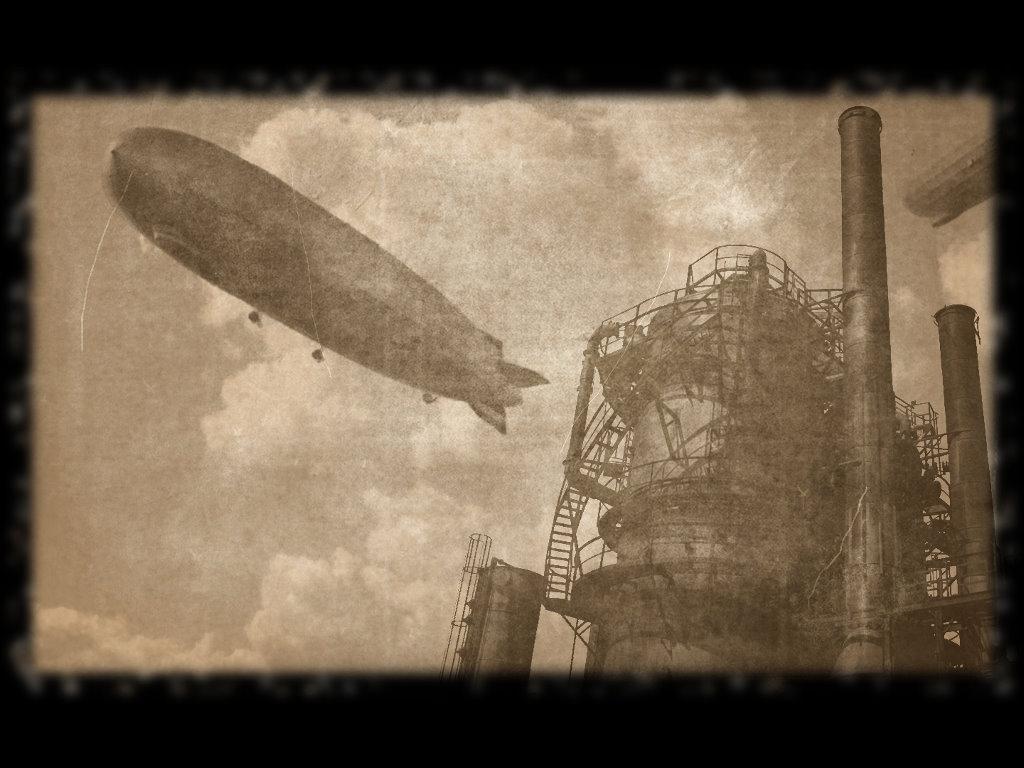 Abstract Wallpaper: Grunge Zeppelin