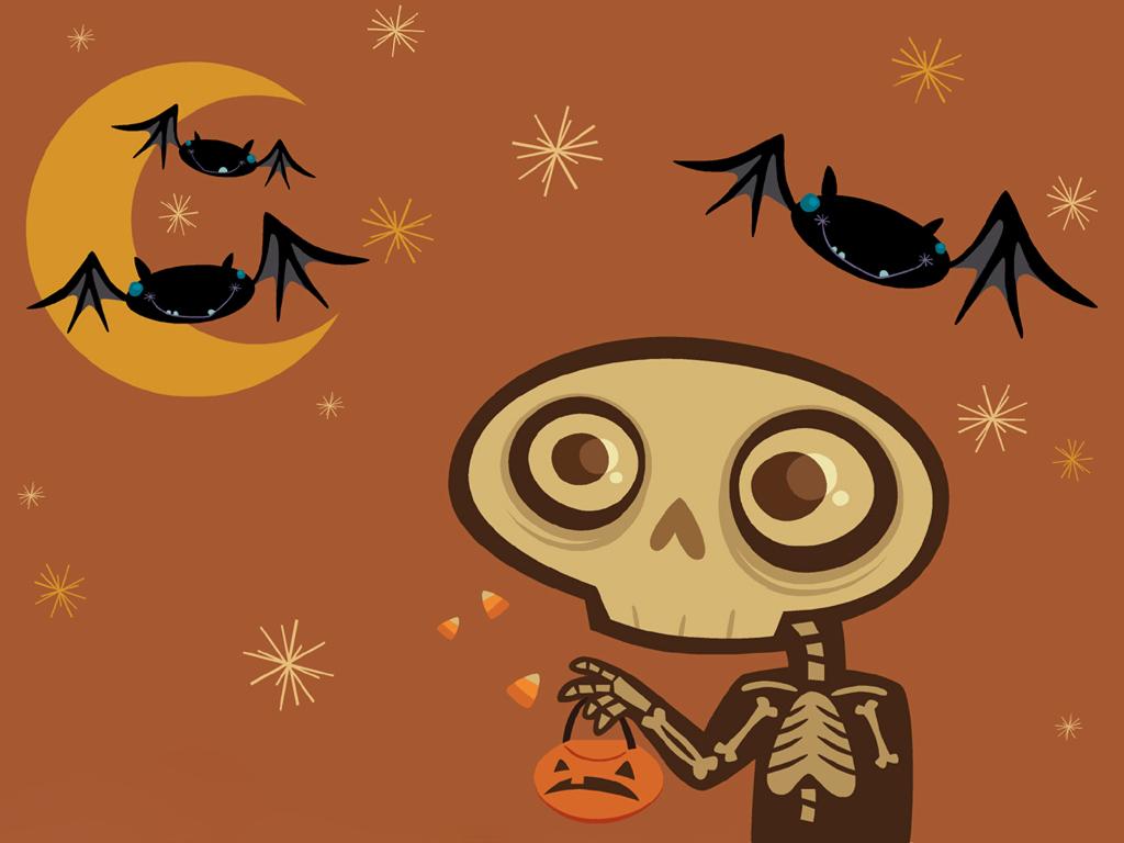 Abstract Wallpaper: Halloween