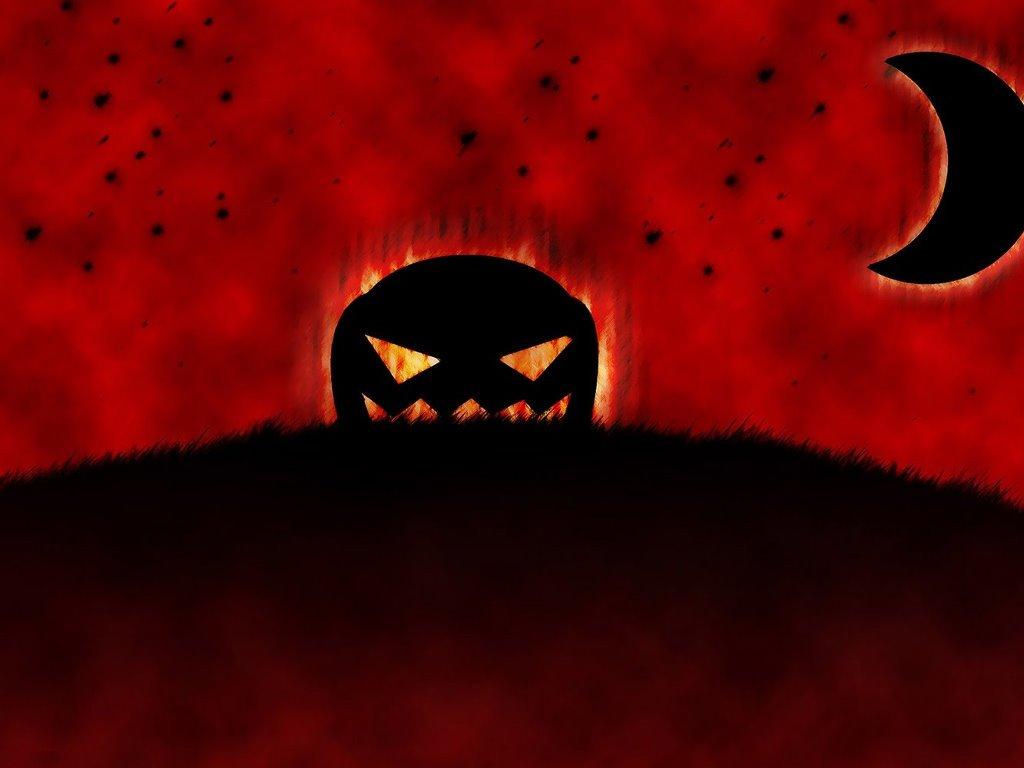 Abstract Wallpaper: Halloween - Dark Moon