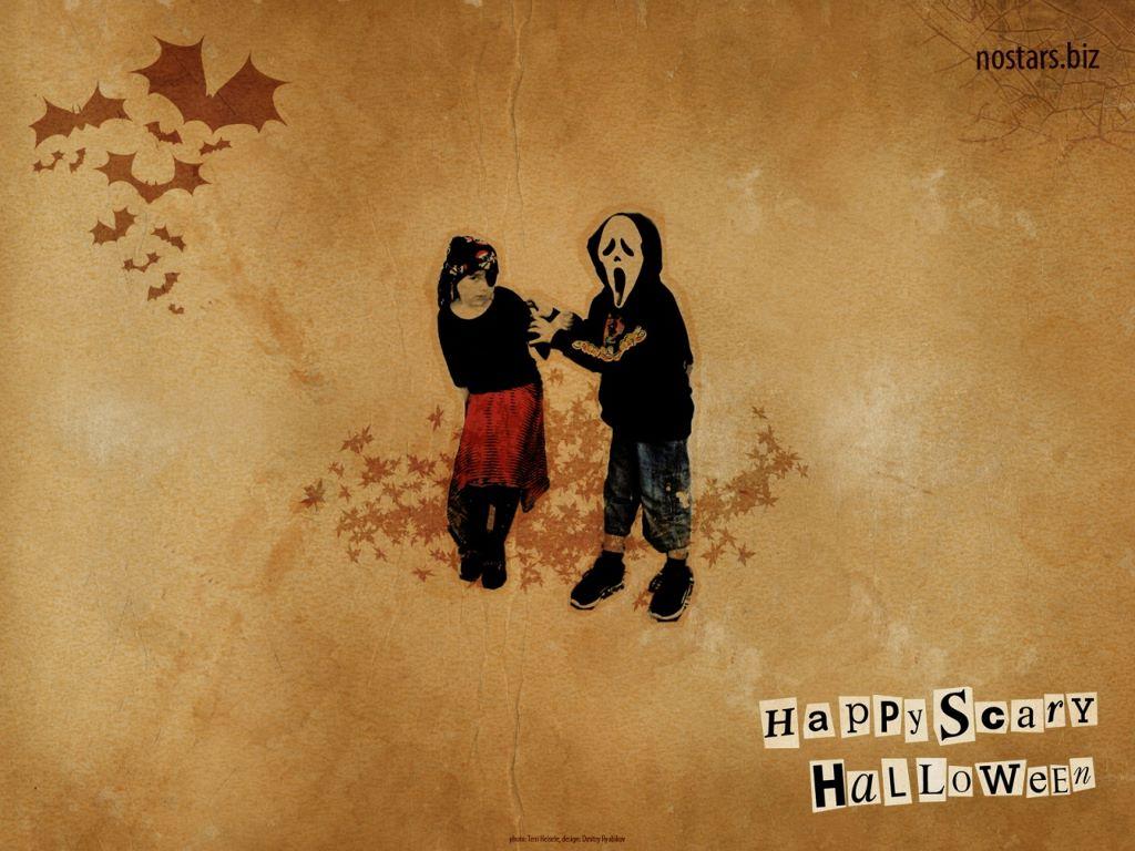Abstract Wallpaper: Halloween Kids