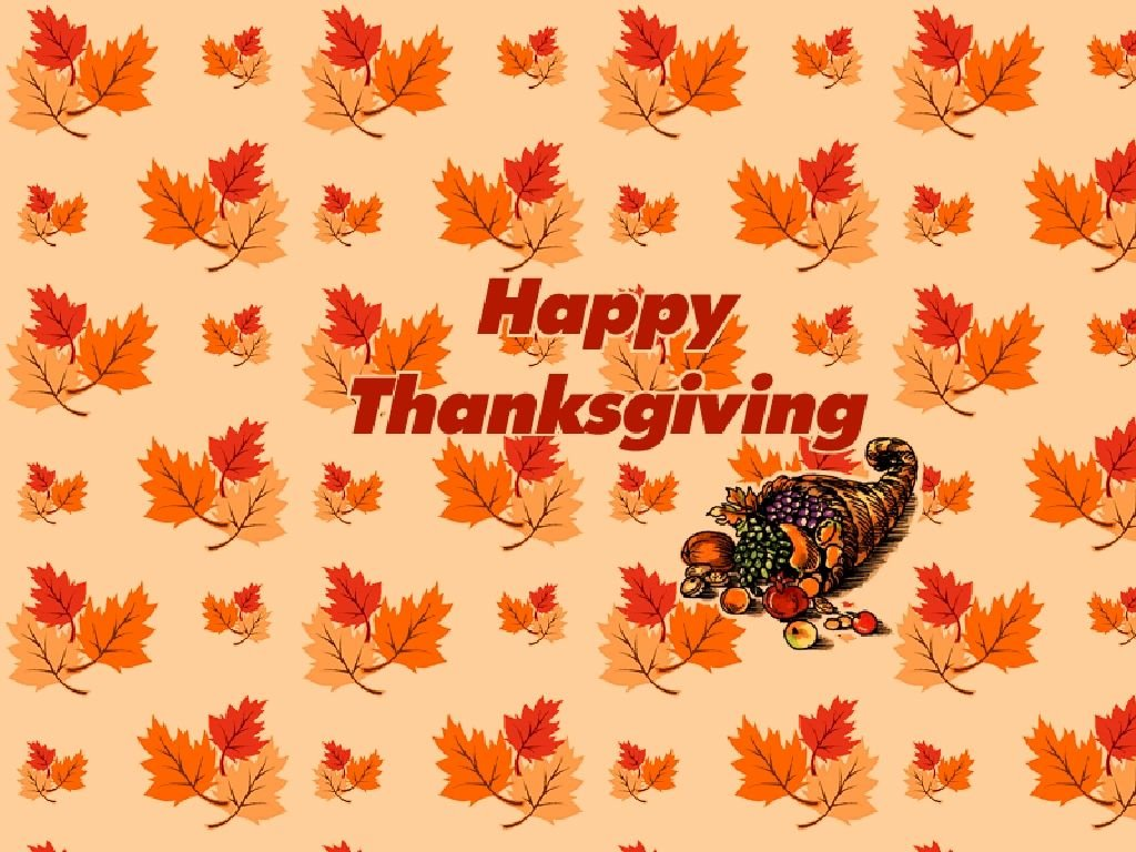 Abstract Wallpaper: Happy Thanksgiving