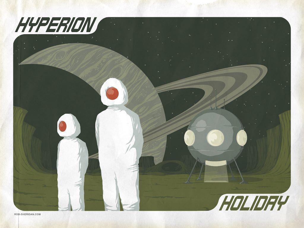 Abstract Wallpaper: Hyperion